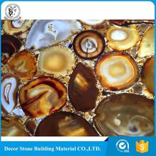 High quality long duration time agate onyx marble slabs manufactured in China