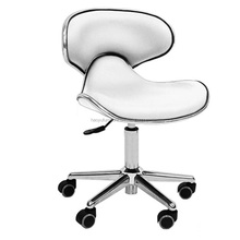 MC01 white swivel nail technician chair