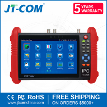"7"" HD 1080P Touch Screen IP AHD CVI TVI CCTV Camera Tester"
