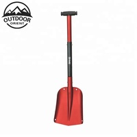 Portable Telescopic Aluminum Utility Car Adjustable Extended Edition Snow Shovel