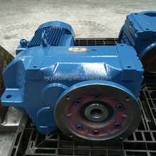 F seies flange mounting helical gearbox for machine