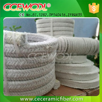 CCEWOOL Ceramic fiber rope high temperature door seal