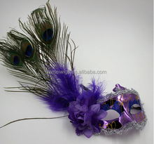 F6299 cheap sexy purple masquerade masks,cocktail party mask