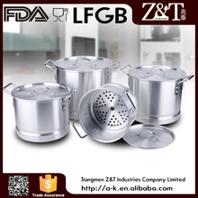 Durable home brew aluminum large stock pot