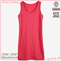 Ladies Garment Factory Direct New Arrivals Vest 100% Cotton Knitting Wear Summer Tops Blouses 2013