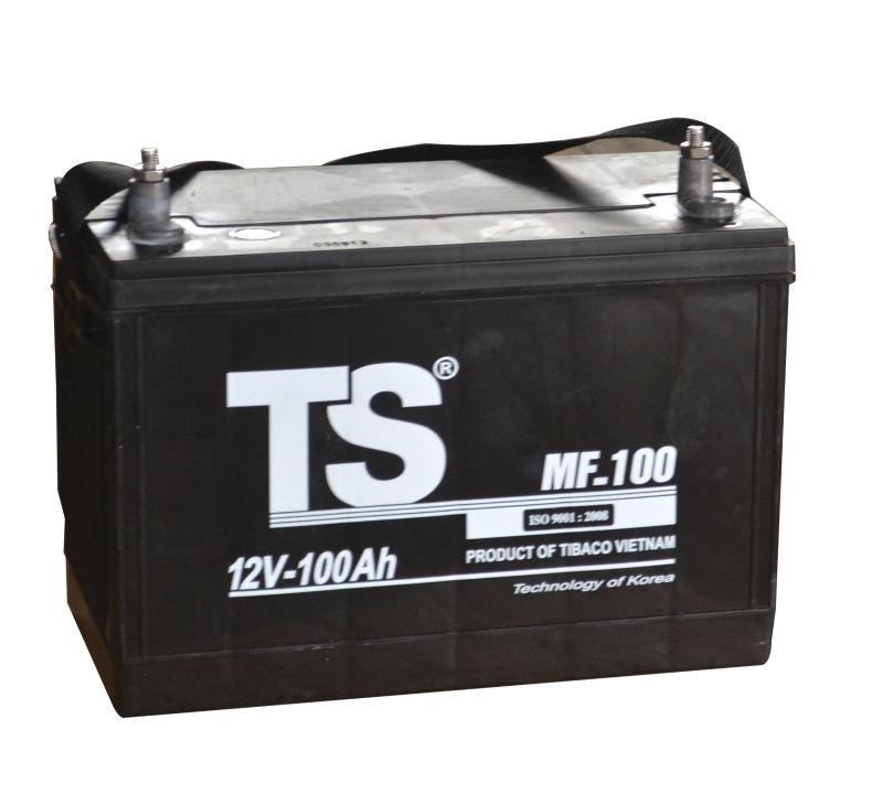 6QW.100TII Battery/MF100 Battery/Maintenance Free Battery 12V 100Ah