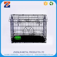 Wholesale custom high quality supplier pet cage folded dog crates cage