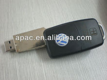 cheap price car key shape usb flash drive in hot selling