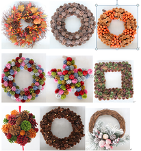 2013 christmas pinecone wreath christmas hanging pinecone decoration