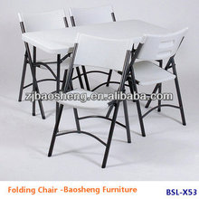 modern design folding chair plastic foldable chair