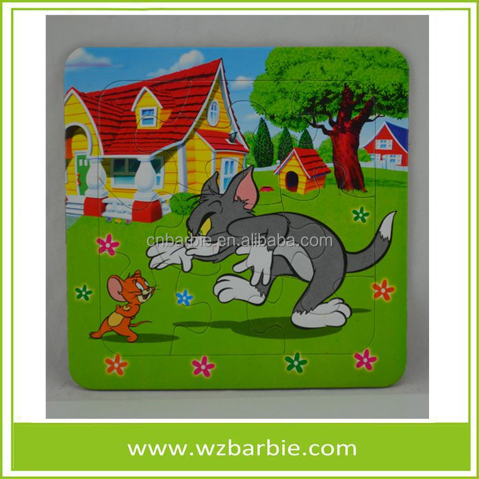2016 Hot Sale Tom and Jerry Jigsaw Puzzle For Kids