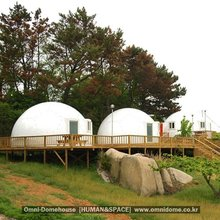 [Human&Space] Prefabricated House, frp dome house, modular houses, low cost houses, shelter