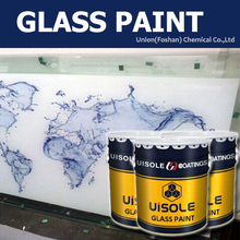 transparent and white glass paint for heat press transfer Sublimation printer machine to transfer
