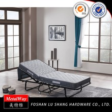 Hot cheap knock down cheap price folding iron beds