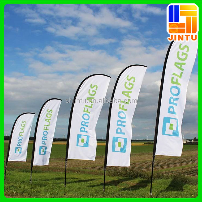Outdoor event decorative flags stainless steel flag pole