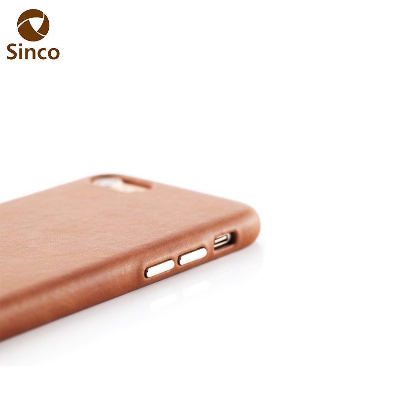 OEM mobile genuine leather phone case back cover for iphone 7