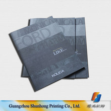 custom company products brochure/catologue/magazine printing with saddle stitch