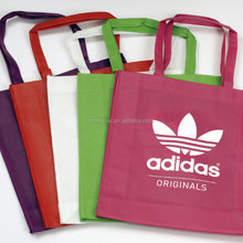 Custom Promotional Bags Foldable bag PP Printed Garment Cheap Drawstring Tote Fabric Laminated Recyclable Non Woven Bag