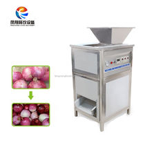 Professional Industrial Stainless Steel Onion Skin Removing Machine