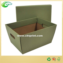 Custom warm/high level case box with printed logo and inserter wholesale for goods