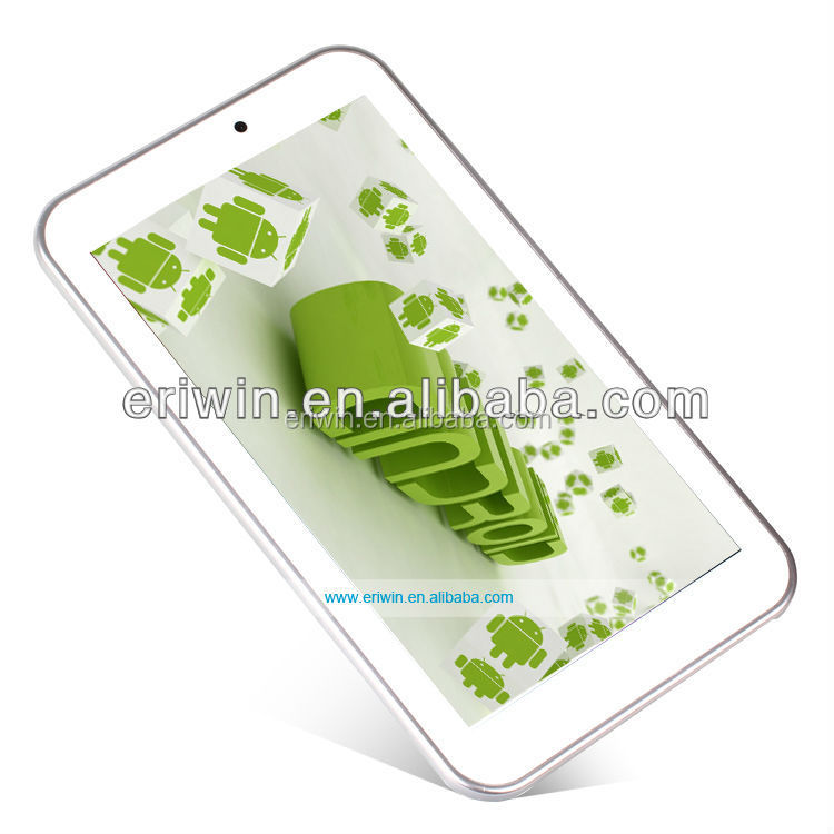 Android 7 inch cheap dual core CPU PC tablet with bluetooth Shenzhen China free sample