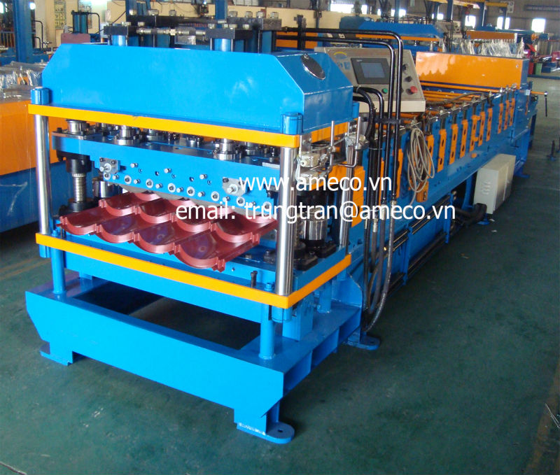 CLASSIC Step Tile Roofing Roll Forming Machine