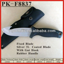 "(PK-F8837) 10"" Buffalo River with Gut Hook Outdoor Skinner Bowie Knife"