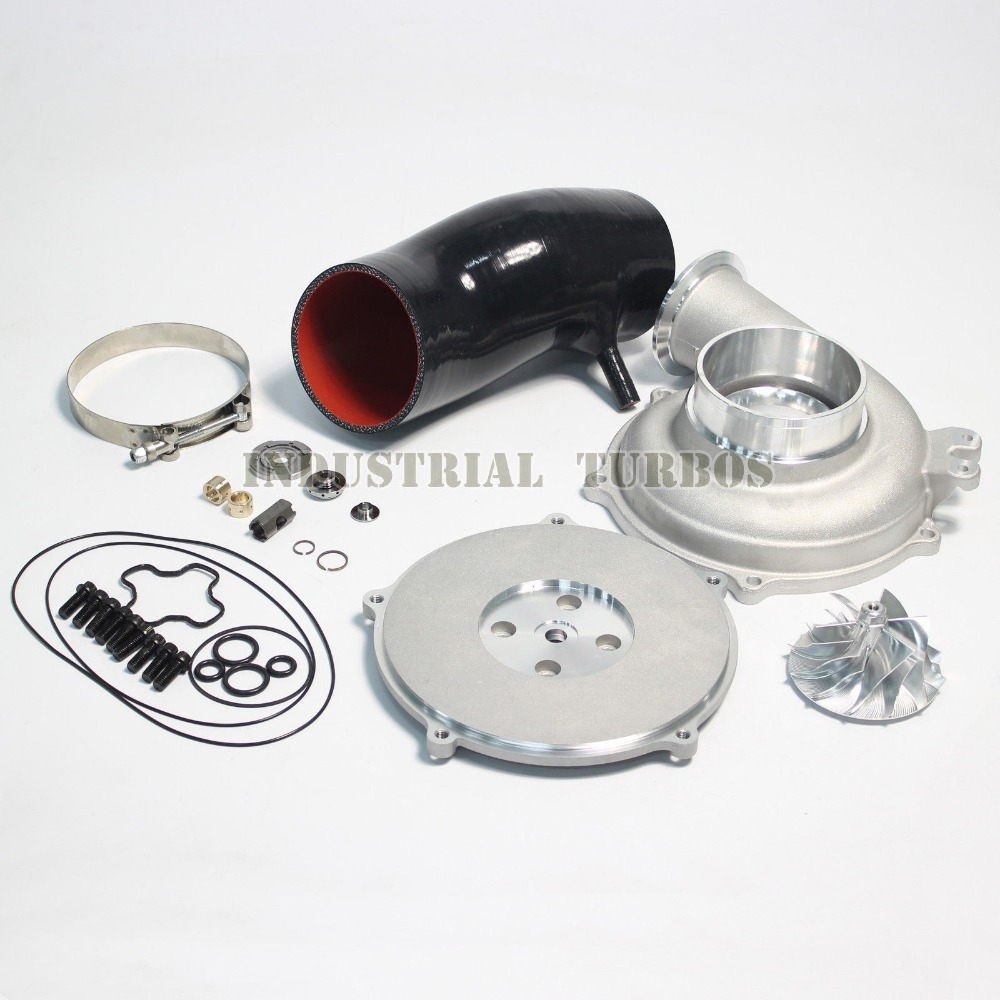 Hot Sale GTP38 Turbo 66/88mm Billet Compressor wheel upgrade Kit for Powerstroke 7.3L