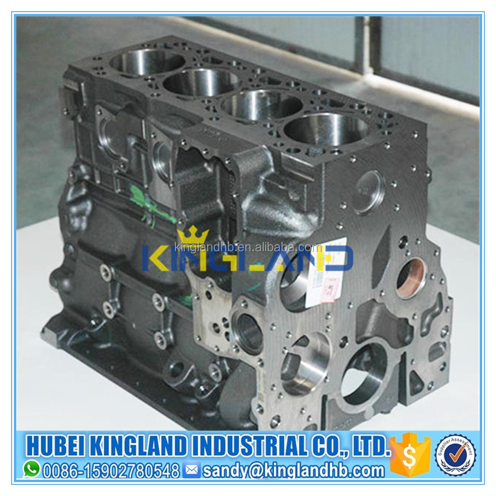 China high quality auto diesel engine parts ISDE cylinder block 4955412