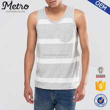 China Factory Manufacture Casual Cotton Men's Tank Top