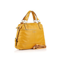 2015 trendy top quality factory price real leather women bag