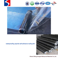 waterproof construction material self-adhesive roofing membrane bathroom