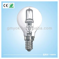 American standard e27 dimmable p45 halogen lamp