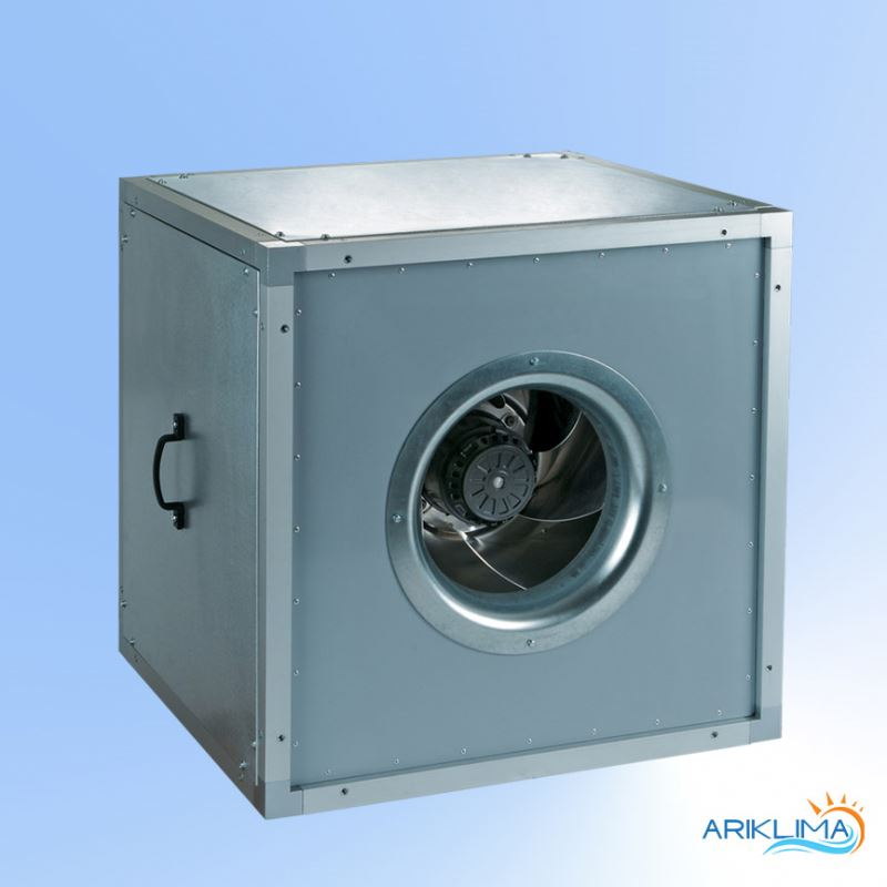European standard low noise smoke exhausting/ ventilating box fan for polluted air extraction BOX-VS