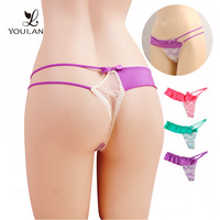 Hot Sale Comfortable Young Lady Printed Thong Children Underwear