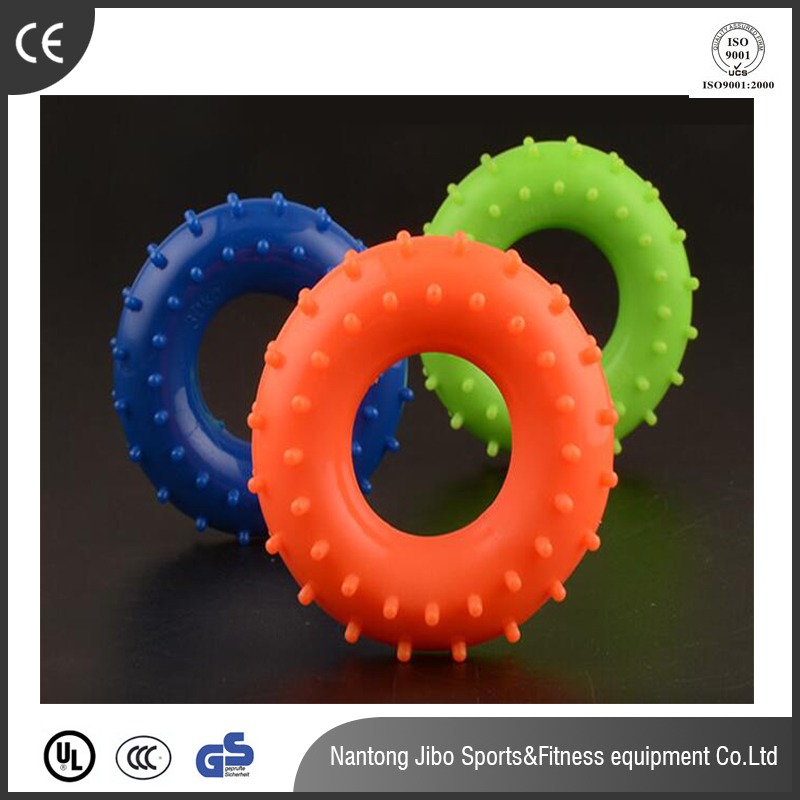 rubber hand grip ring / massage hand ring /TPR hand shaped ring