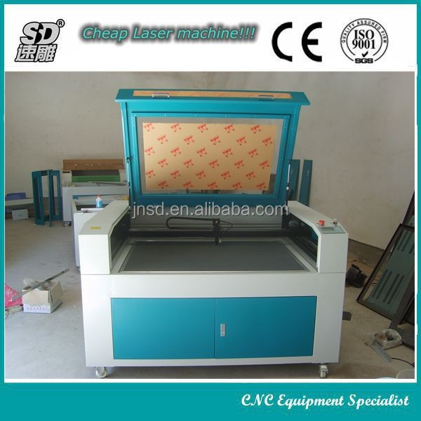 Made in China!!Big promotion stable quality SD-6090(600*900MM) laser cutting machine textile