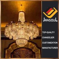 Professional lighting manufacturer church k9 crystal chandelier