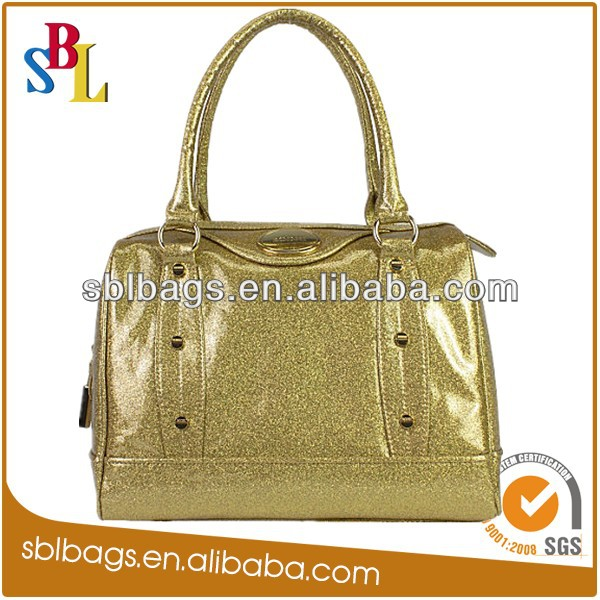 2015 cheap zipper bag fluorescent handbag wholesale flash bag