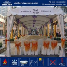 Good quality waterproof, flame redartant, UV-resistant factory direct-sale enclosed french door canopy tent for events