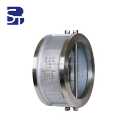 Bosite API 6D Cast Steel Flanged Stainess Steel Swing Check Valve Manufacturers
