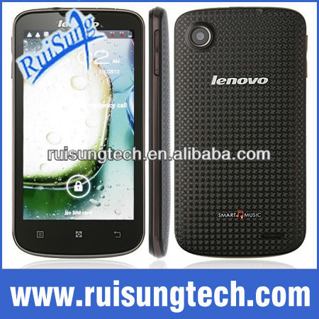 "Lenovo A800 phone MTK6577 dual-core 4.5"" Android 4.0 smartphone 4GB ROM GPS"