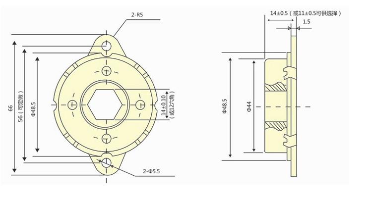 Haute Qualité SP-48A Haute Couple Soft Close Amortisseur Rotatif Pour Siège