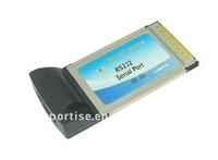 Single Port Serial RS-232 PCMCIA Adapter