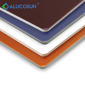Light solid alucobond a2 fireproof aluminium composite panel price