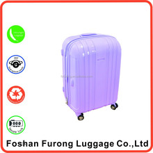 ideal partners oem luggage bag Hard Plastic big wheels trolley Carry on Trolley Bags