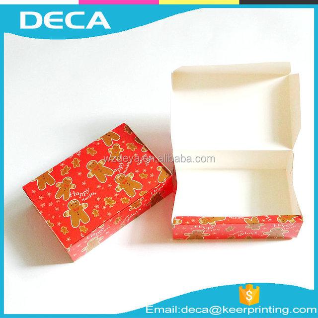 100% quality ensure eco friendly food grade paper box package food package box Custom