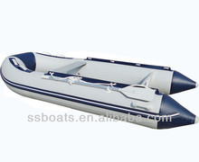 Sunshine PVC 3.2m hot sale v bottom inflatable boat