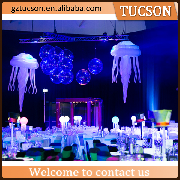 remove control light inflatable jellyfish for advertising / promotion / sale / event