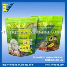 standing pouch plastic food packaing